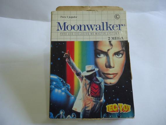 Moonwalker Original Para Master System Na Caixa Tectoy
