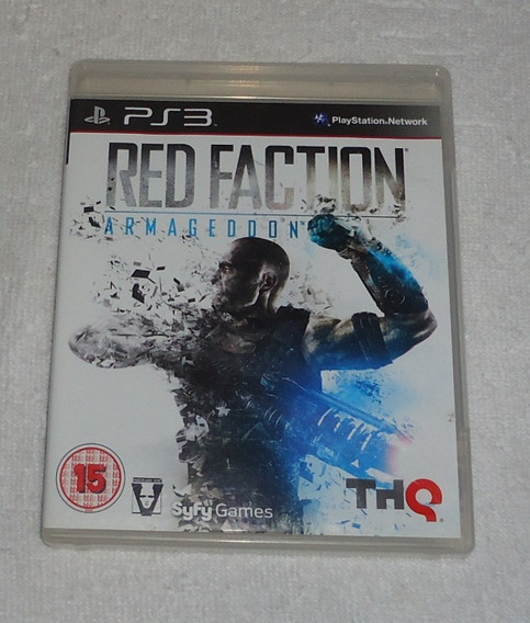 Red Faction Armageddom R2 Ps3 * Frete Gratis Leia