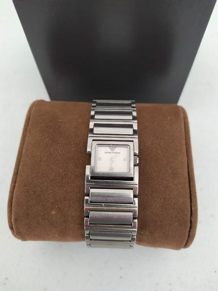 Relógio Empório Armani Original Prata - Frete Grátis!!!!