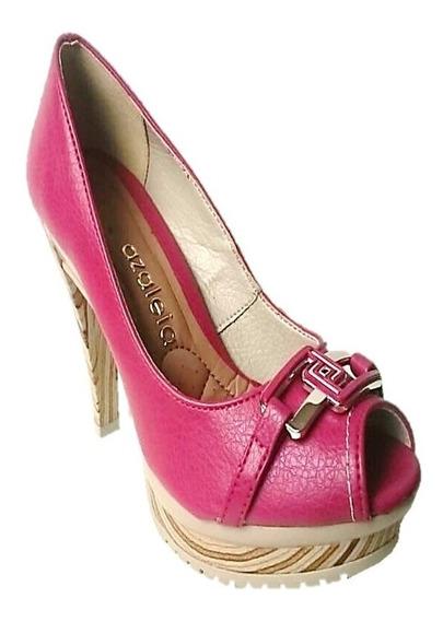 Sapato Adulto Feminino Azaléia 981/267(49) Vermelho