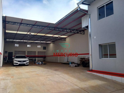 Barracão Para Alugar, 265 M² Por R$ 3.000/mês - Ba0095