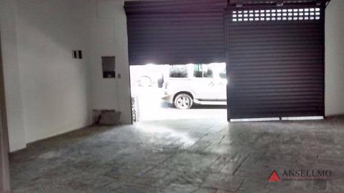 Salão Para Alugar, 65 M² Por R$ 3.000,00/mês - Baeta Neves - São Bernardo Do Campo/sp - Sl0129