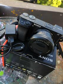 Sony A6300 (comprei Nova Em 2018) Kit Com Caixa Original