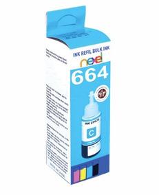 Tinta Nexel Refil Para Hp / Epson 100ml Azul