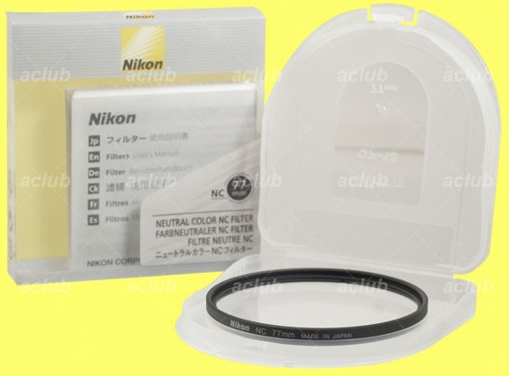 Filtro Nikon Neutro 77mm Original