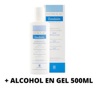 Hidrolac Emulsión + Alcoholgel.