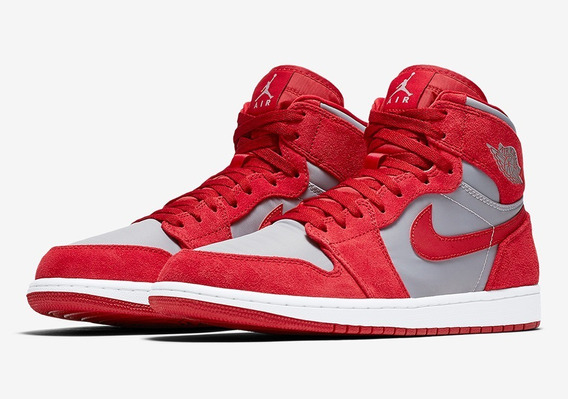 Nike Air Jordan 1 Retro High Prem True Red - Br45 Us12.5 Ds