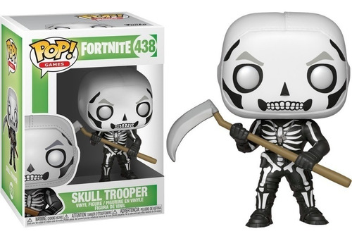 Funko Pop Skull Trooper #438 - Miltienda - Fortnite