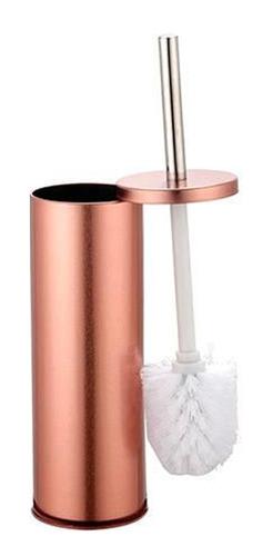Escova Sanitária Para Banheiro Com Base Em Inox Cobre