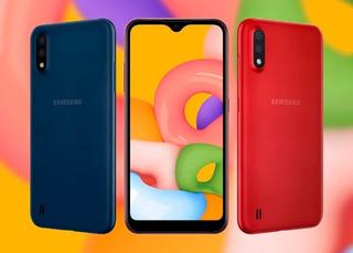 Samsung A01 + Obsequio (local) $ 134,99