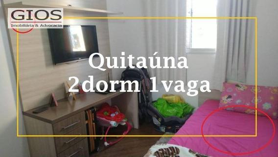 Apartamento Com 2 Dormitórios À Venda, 50 M² Por R$ 265.000,00 - Quitaúna - Osasco/sp - Ap0380