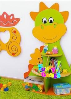 Librero Infantil, Juguetero