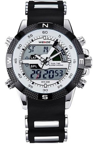 Relógio Masculino Weide Orient Aço Inox + Caixa Promoção