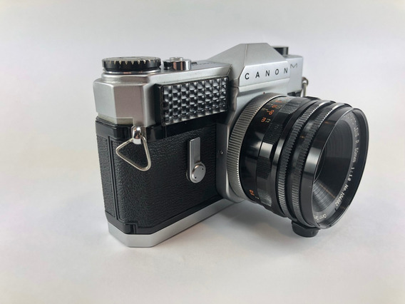 Canon Canonflex Rm - Perfeita Para Colecionador