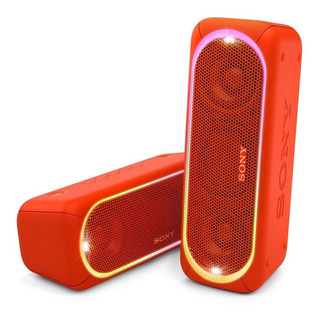 Sony Parlante Bluetooth Con Luces Extrabass Rojo Srs-xb30rc