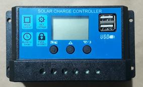 Controlador De Carga Para Placa Solar