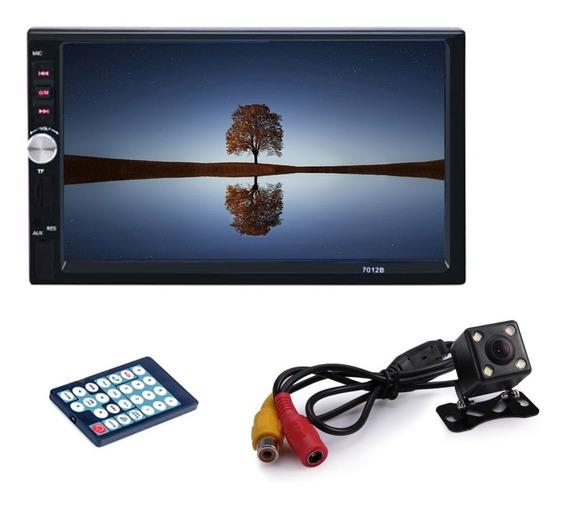 Autoestereo Mirrorlink 7012b 7 Inch Touch Mp5 Camara Reversa