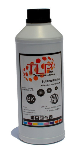 Imagen 1 de 8 de Tinta De Sublimacion Tlp Premium  Sublimar 5 Litros A Elegir