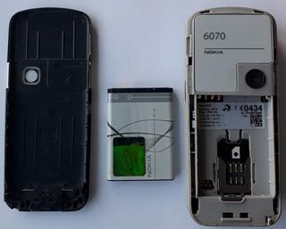 Celular Nokia 6070 Com Mp3 Câmera Rádio Fm Desbloqueado