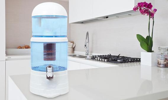 Purificador Dispensador Agua Filtrado 3 Etapas Bioenergetico