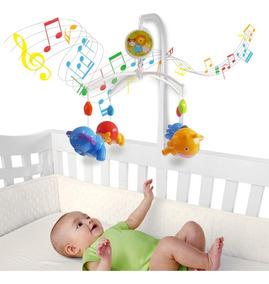 Móbile Giratório Musical De Bebê - Safari