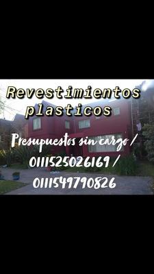 Colocacion Revestimientos Plasticos 120$m2
