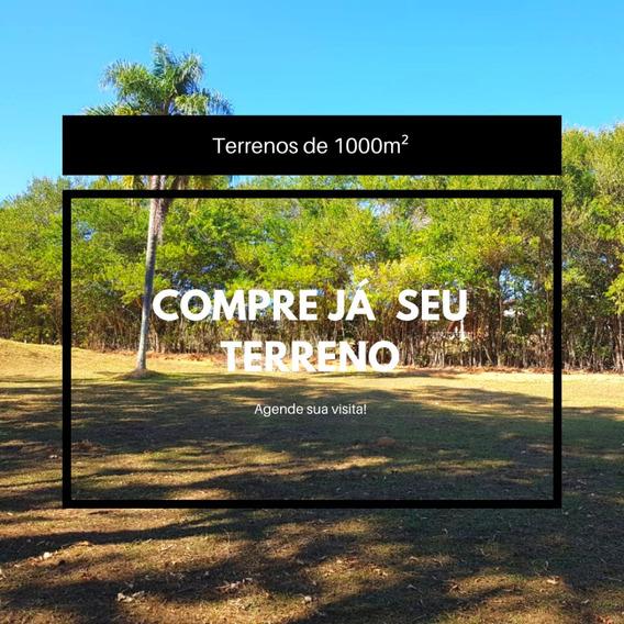 Terrenos Com Ótima Localização E Qualidade De 1000m² Em Sp.