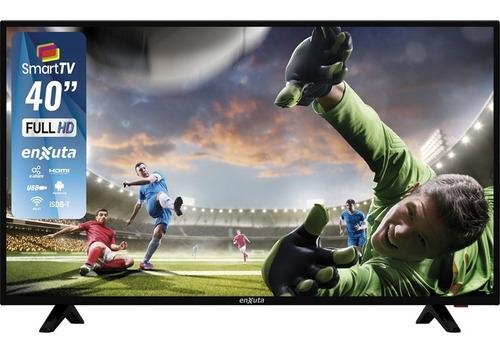 Televisor Led Smart Tv 40 Android 7.1 Enxuta - Hostore.uy