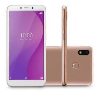 Smartphone Multilaser Dourado 4g 32gb