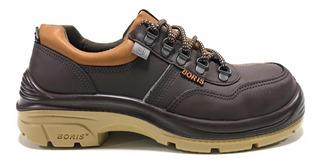 Zapato De Seguridad 3014mf Boris - Pintolindo