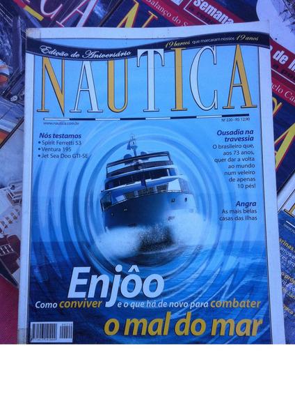 Lote Com 19 Revistas Náutica - Barcos Iates Lanchas