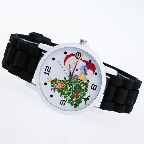 Ladies Natal Banda Silicone Relógio De Quartzo Zlf0602-d6 Pr