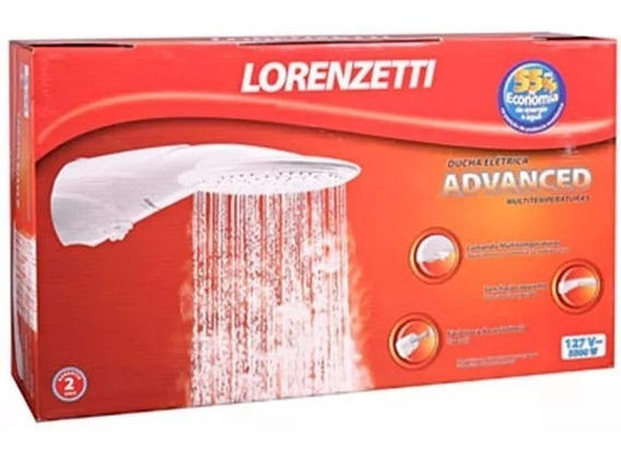 Ducha Lorenzetti Chuveiro Advanced Promoção 220v
