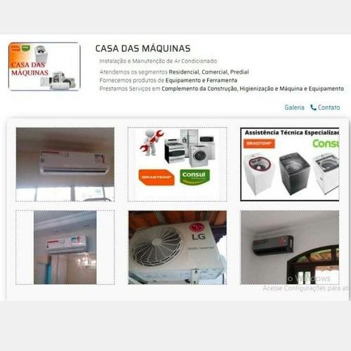 Ar Condicionado Instalação Manutenções E Máquinas De Lavar
