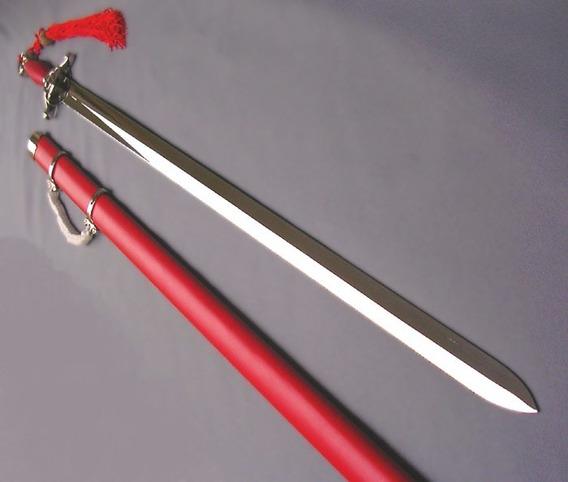 Espada Recta Jian Cuchilla Rigida Funcional Formas Tai Chi