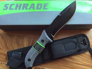 Cuchillo Schrade Schf10 ,diseño Excelente Pieza Imperdible