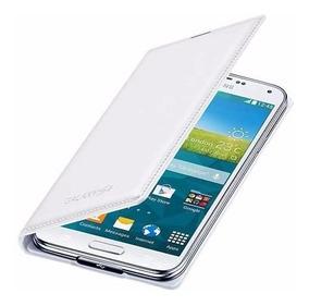 Capa Samsung Galaxy S5 - Flip Wallet / Carteira (branco)