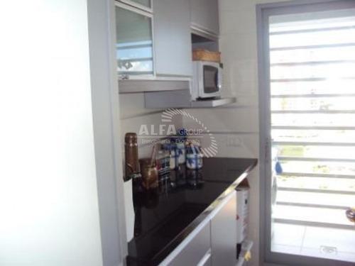 Apartamento En Mansa, 2 Dormitorios *-ref:16