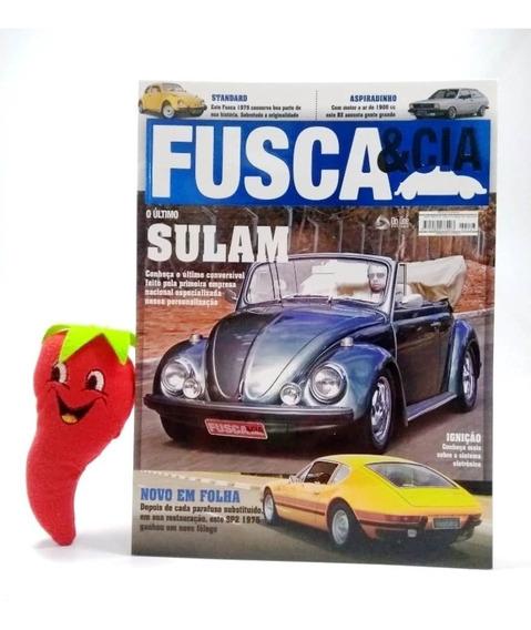 Revista Fusca & Cia N°147 O Último Sulam (loja Do Zé)
