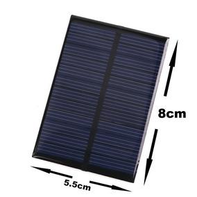 Módulo Solar 6v Carregador Placa Fotovoltaica 100ma- Me