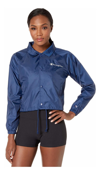 Chamarra Mujer Champion Heritage Woven Coaches Jacket M-334