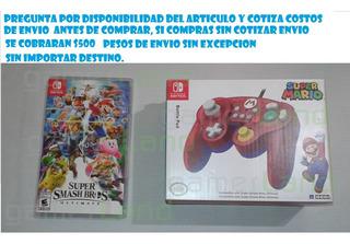 Vendo Juego Smash Bros Ultimate Y Control Nintendo Switch