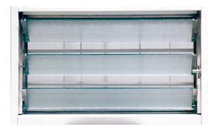 Nexo Aireador Clasic Con Reja, Mosquitero Y Vidrio De 60x36