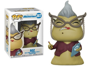 Funko Pop #387 Roz De Monster Inc Disney Pixar Buenísimo!!!