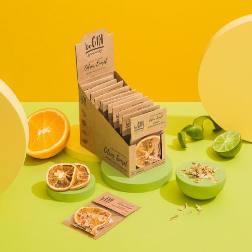 1 Box Citrus Sunset - Especiarias Gin Tônica (12 Sachês)