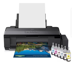 Kit Sublimacion Impresora Epson L1800 + Plotter +plancha