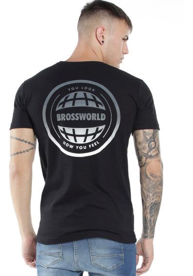 Remera Bross World - Hombre