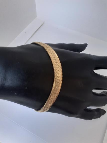 Pulsera Oro Puro 14k Esclava Centenario Gold&luxury Goldmex