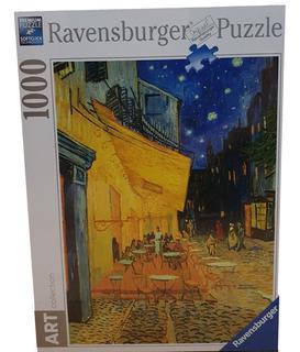 Rompecabezas Ravensburger - Cafe Terraza Van Gogh 1000 P