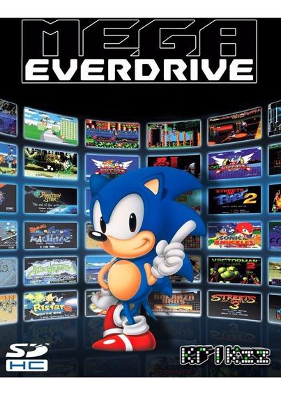 Dvd Com Os Jogos Do Mega Drive Pra Coloca No Seu Cartão Sd